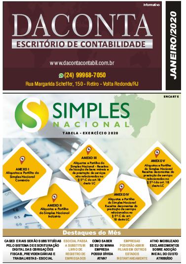 Revista Mensal Janeiro/20