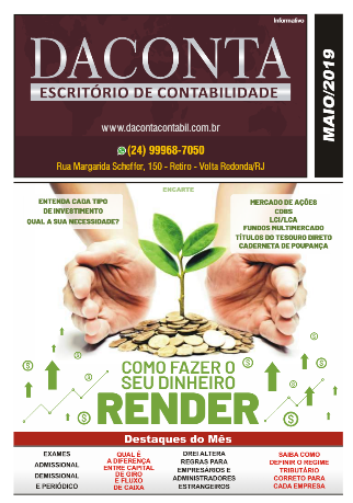 Revista Mensal Maio/19